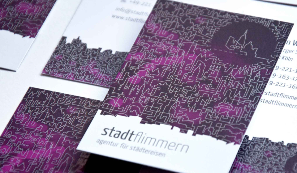 Stadtflimmern: Business Card