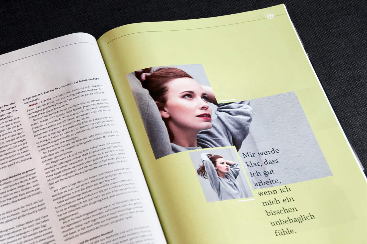 Xound Magazine: Marit Larsen